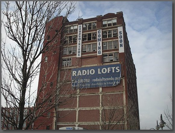 A former RCA Victor building awaiting a new life