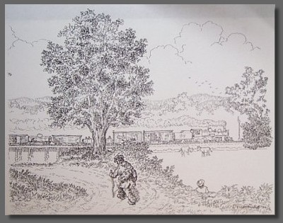 drawing by Drummond Mansfield