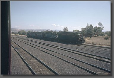 engines in the Oroville, CA Union Pacific yard