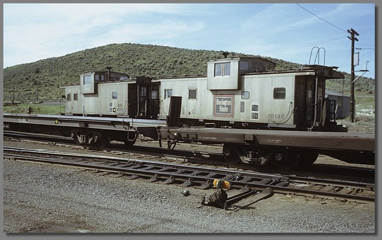 cabeese, Klamath Falls BN yard, May 1978