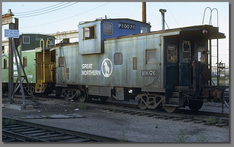cabeese, Denver BN yard, July 1981