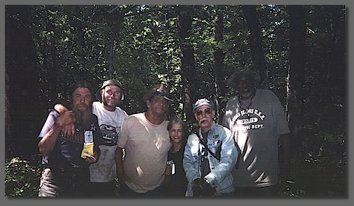 Longhair Donny, Silver Miner Larry, Pat, Vickie, New York Ron, New York Slim