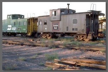 Chicago, Burlington and Quincy caboose