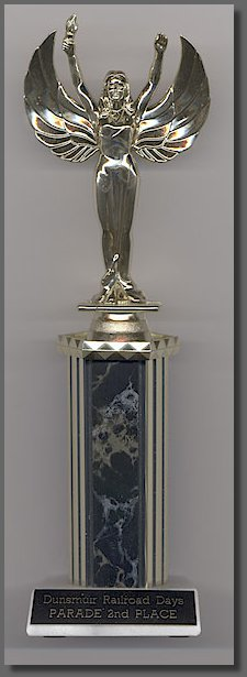 Dunsmuir Railroad Days trophy