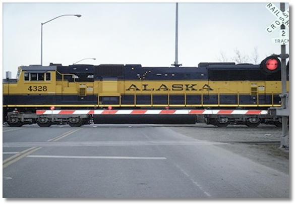 Alaska Railroad unit